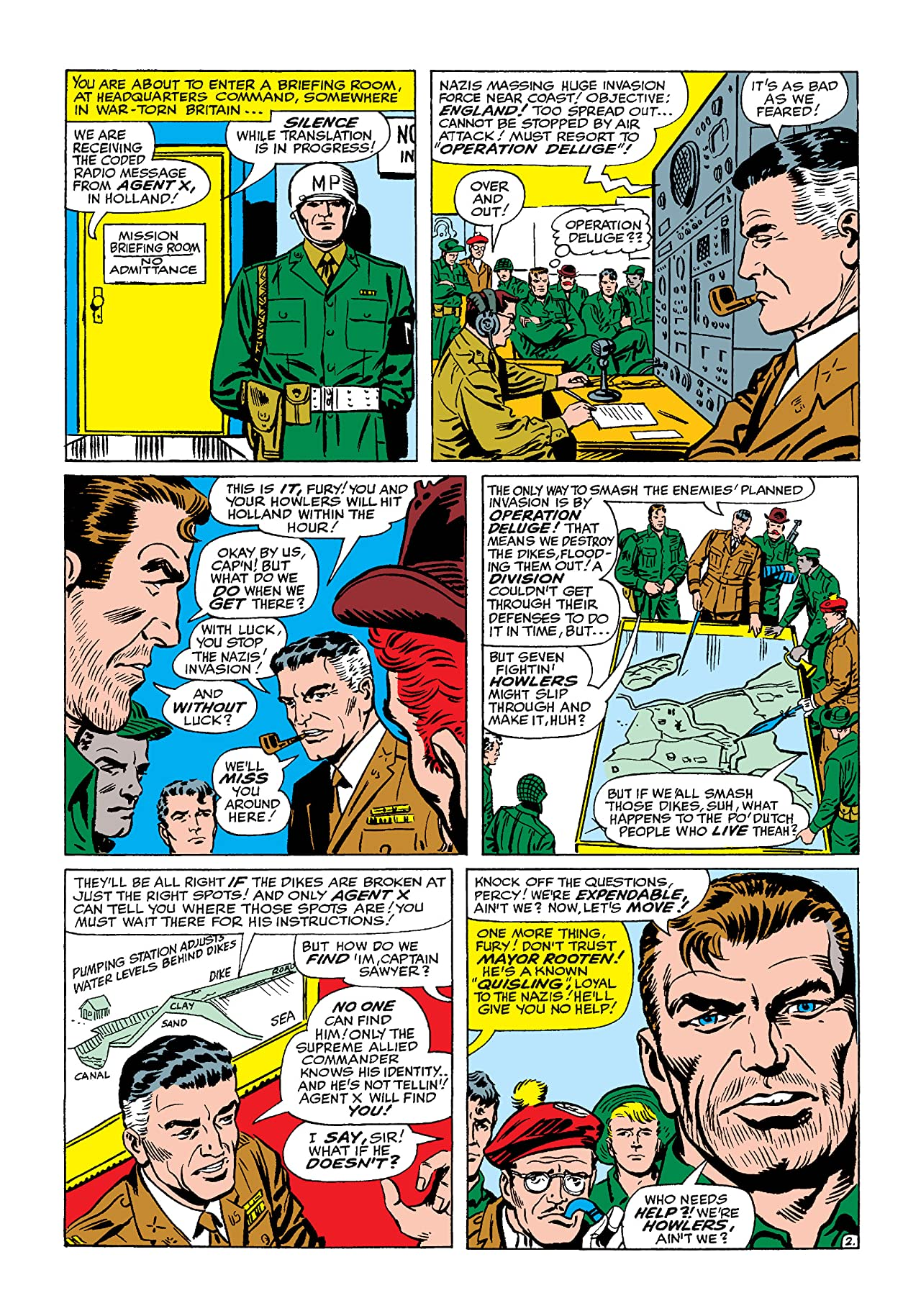 Sgt. Fury and His Howling Commandos (1963-1974) #15