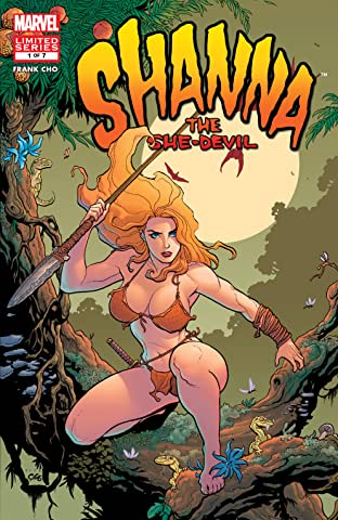 Shanna, The She-Devil (2005) #1 (of 7)