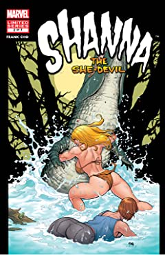 Shanna, The She-Devil (2005) #2 (of 7)