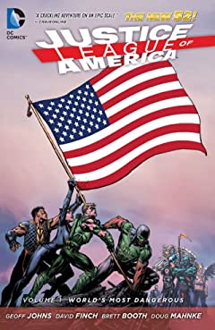 Justice League of America (2013-2015) Tome 1: World's Most Dangerous