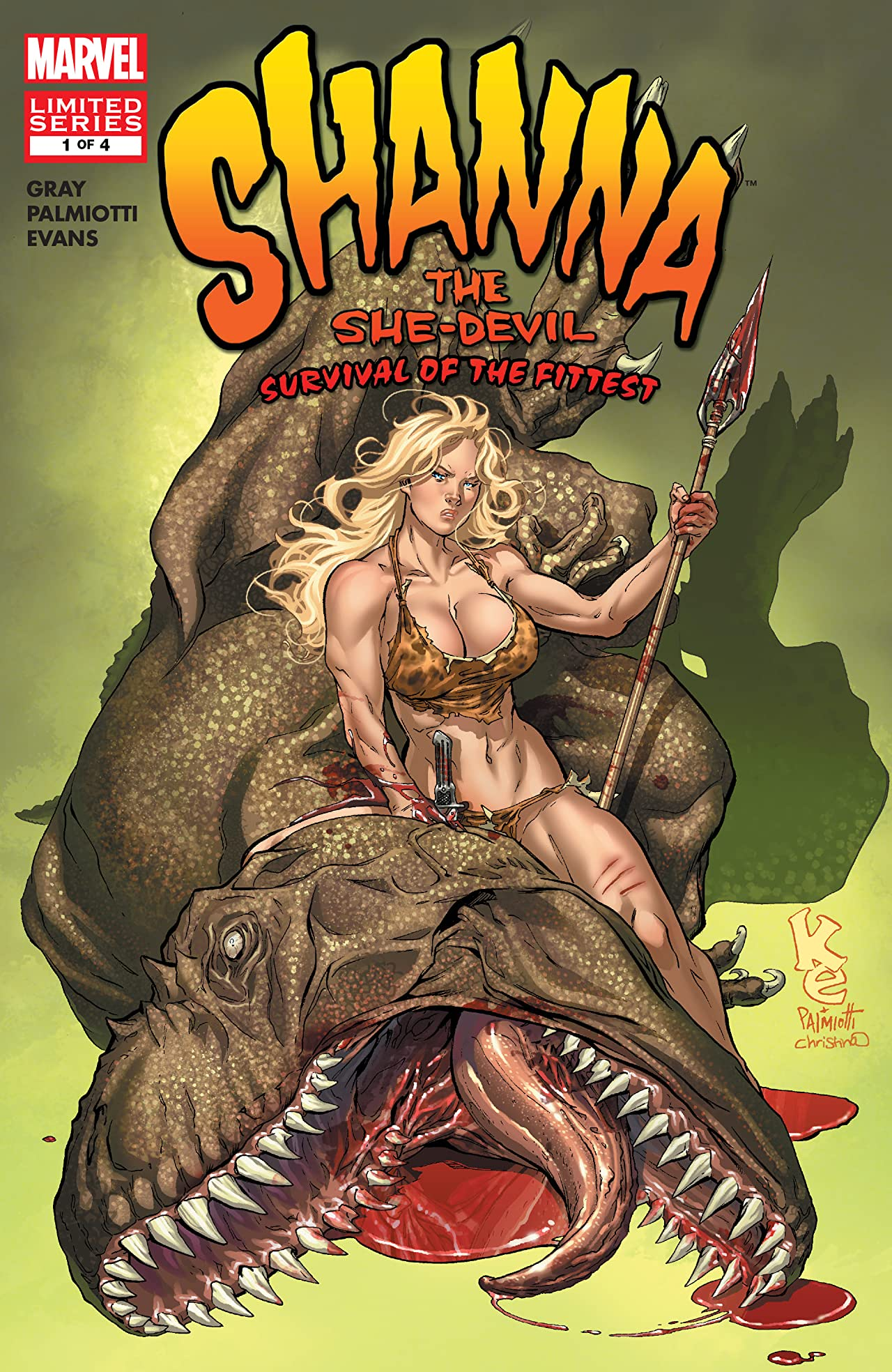 Shanna, The She-Devil: Survival of the Fittest (2007) #1 (of 4)