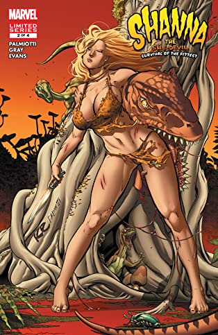Shanna, The She-Devil: Survival of the Fittest (2007) #2 (of 4)