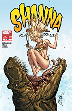 Shanna, The She-Devil: Survival of the Fittest (2007) #3 (of 4)