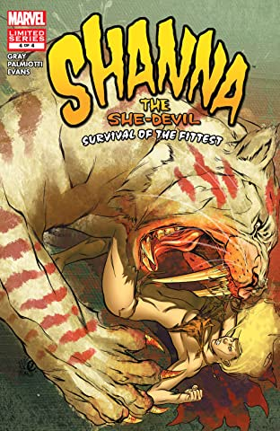 Shanna, The She-Devil: Survival of the Fittest (2007) #4 (of 4)