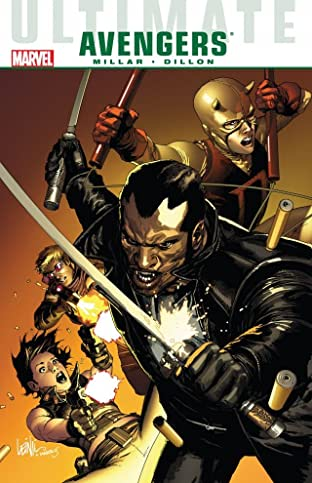 Ultimate Comics Avengers: Blade vs. The Avengers