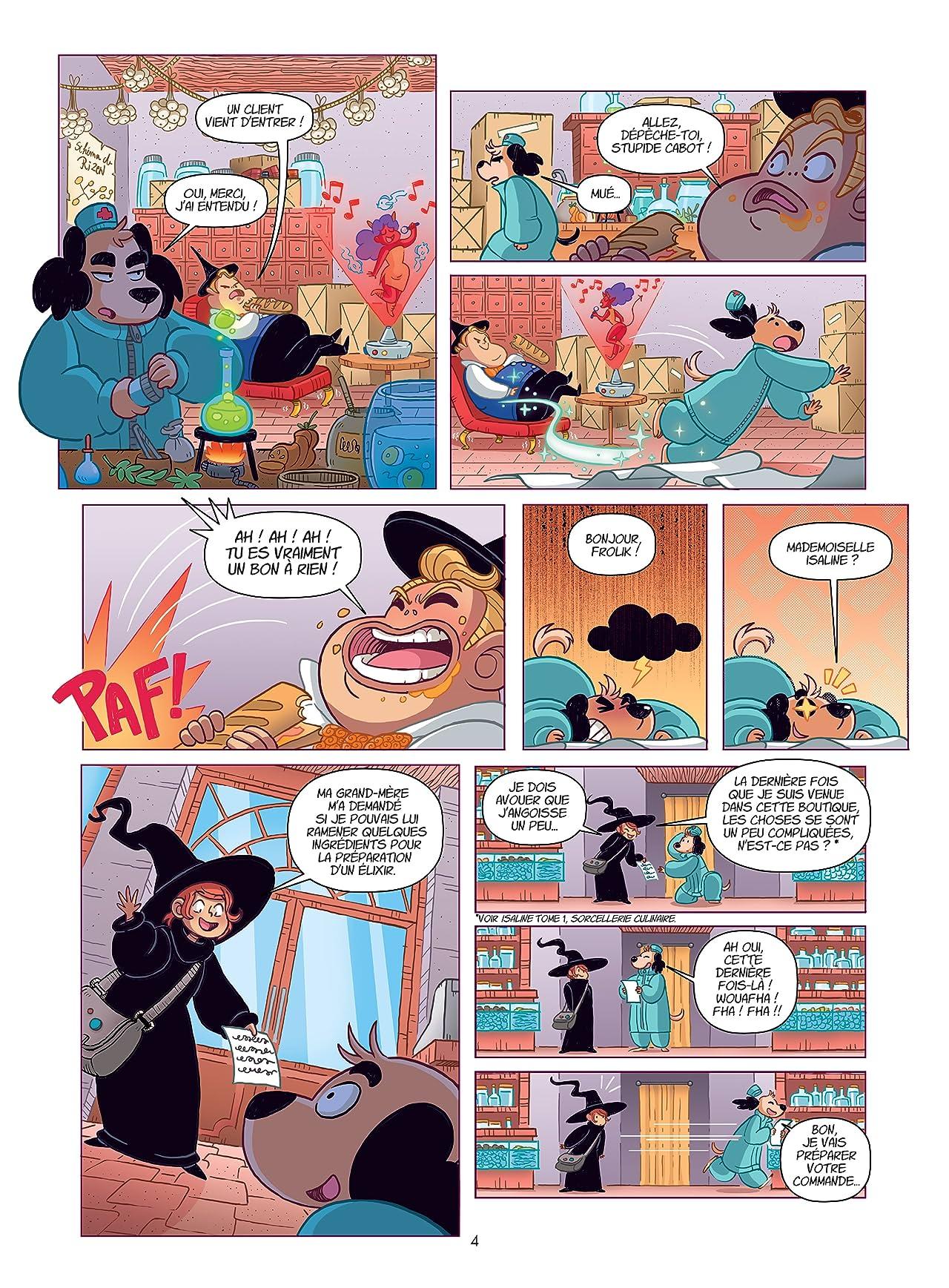 Isaline Vol. 3: Sorcellerie Magichienne