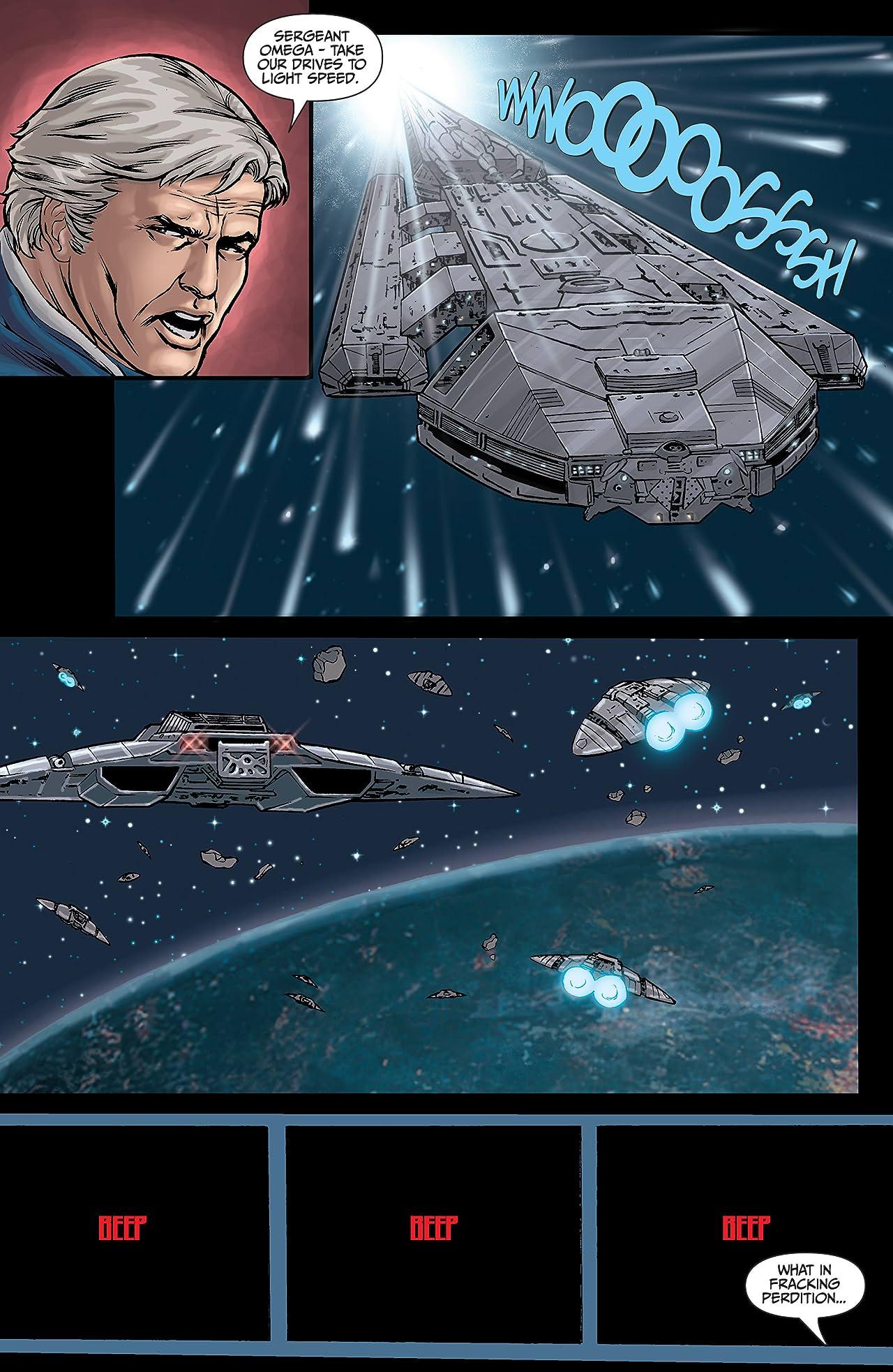 Classic Battlestar Galactica: Cylon Apocalypse #4