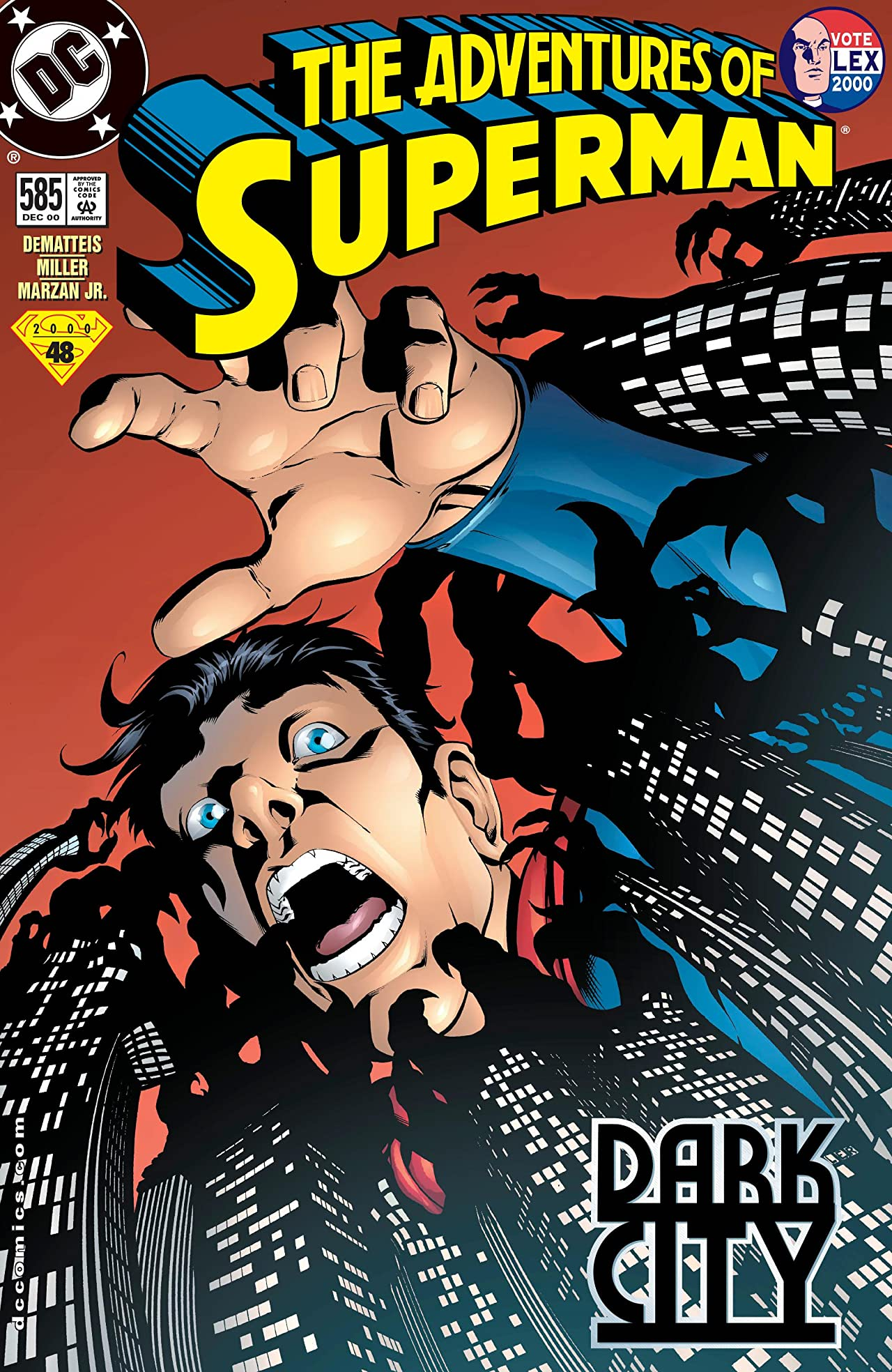 Adventures of Superman (1986-2006) #585