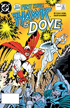 Hawk and Dove (1989-1991) #1