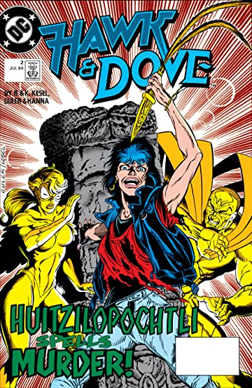 Hawk and Dove (1989-1991) #2