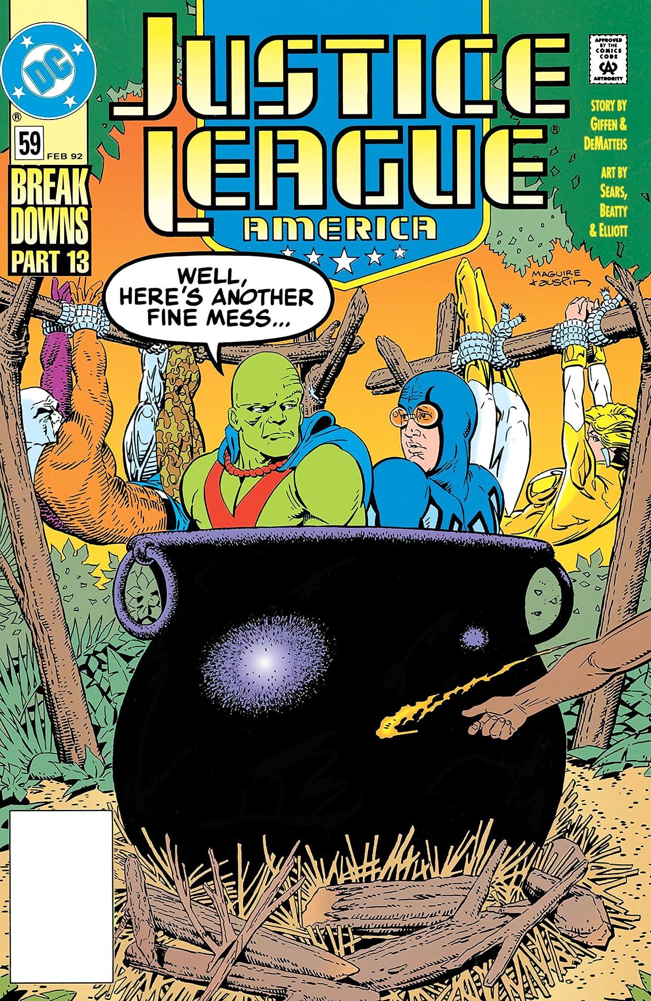 Justice League America (1987-1996) #59
