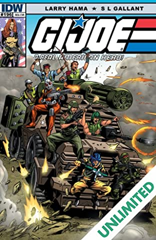 G.I. Joe: A Real American Hero #196
