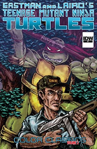 Teenage Mutant Ninja Turtles: Color Classics Tome 2 No.1