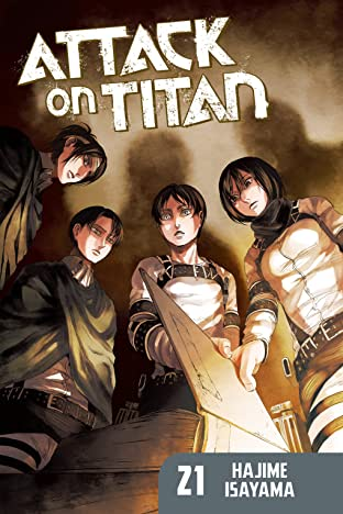 Attack on Titan Tome 21