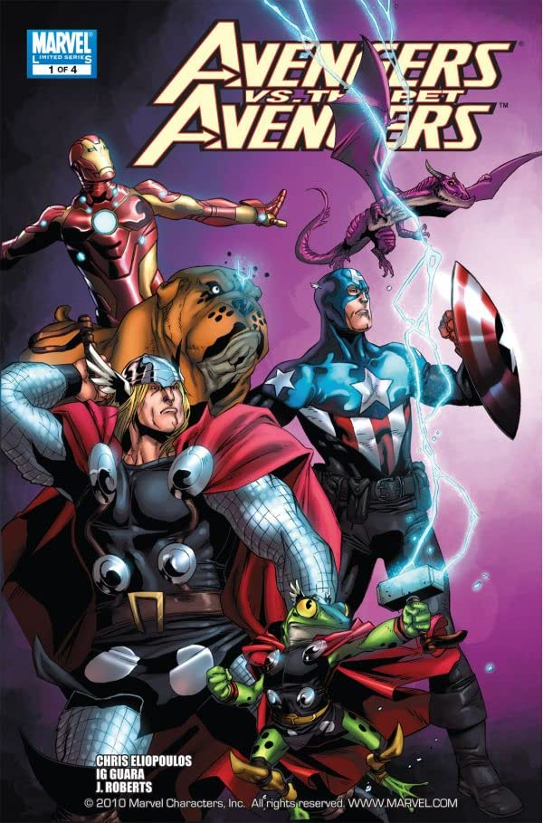 Avengers vs. Pet Avengers #1 (of 4)