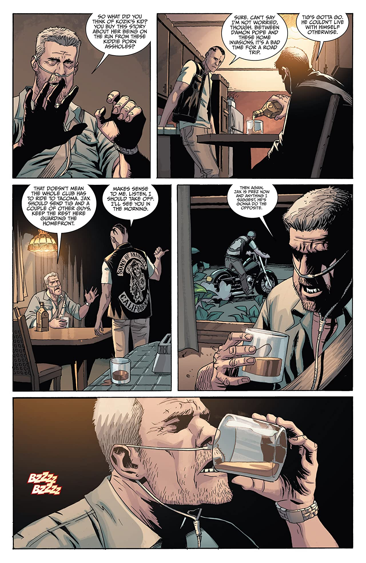 Sons of Anarchy #3 (of 6)