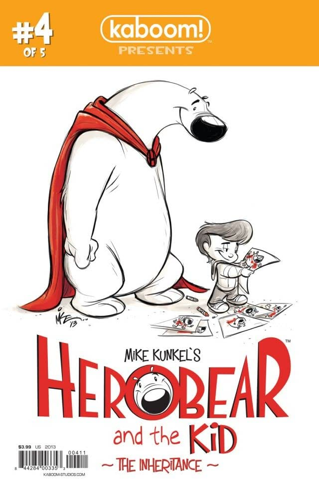 Herobear and the Kid: The Inheritance #4 (of 5)