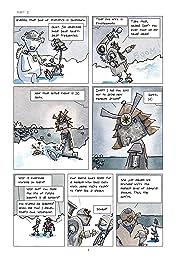 Robot Samurai Penguins #2