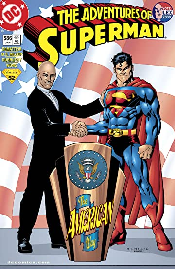 Adventures of Superman (1986-2006) #586