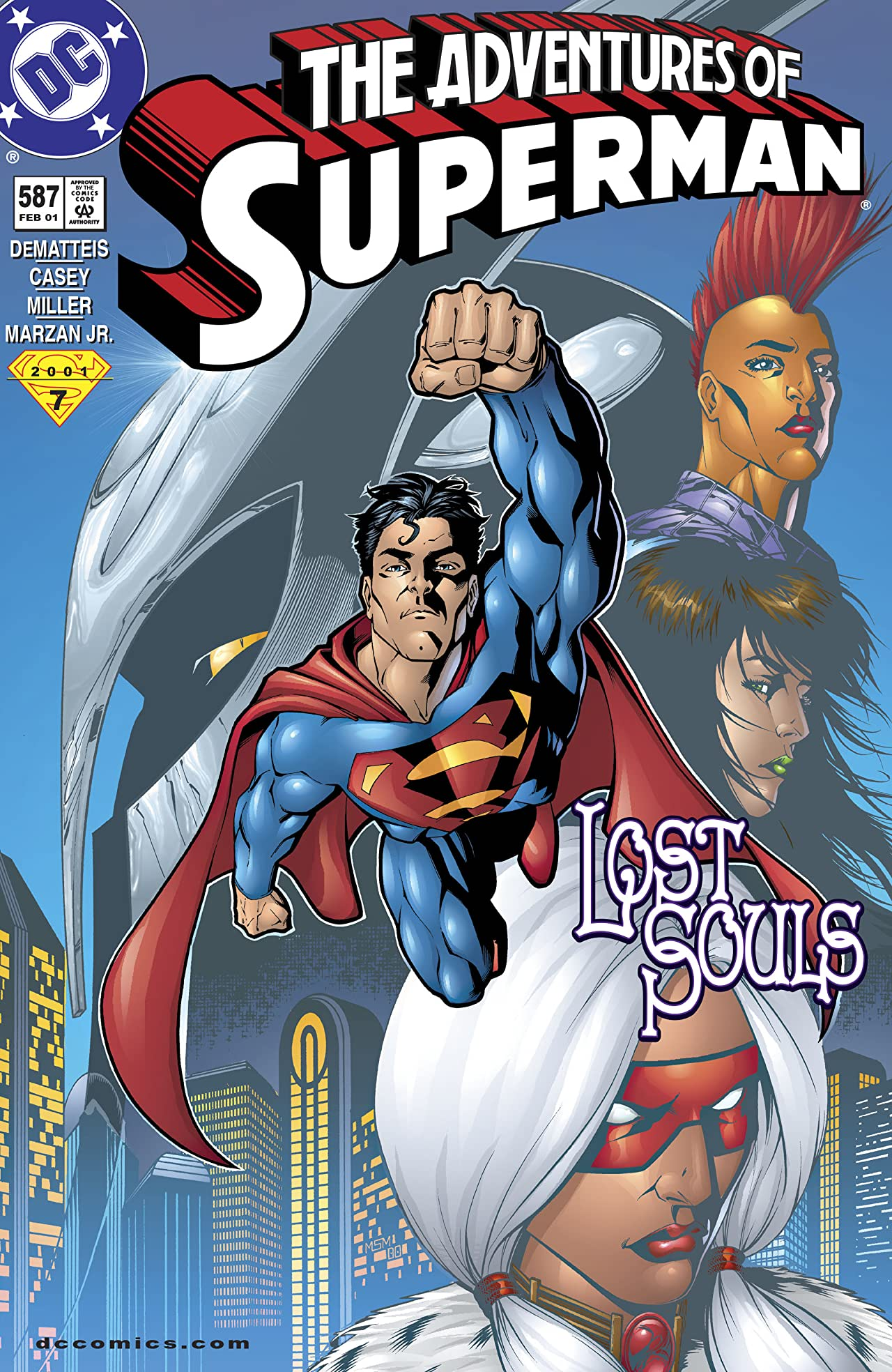 Adventures of Superman (1986-2006) #587
