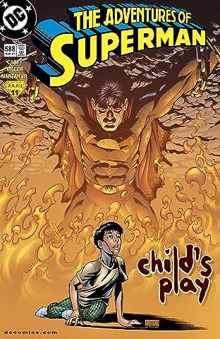 Adventures of Superman (1986-2006) #588