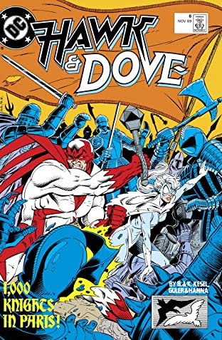 Hawk and Dove (1989-1991) #6