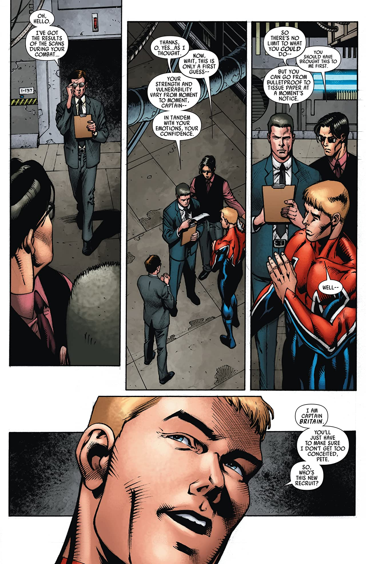 Captain Britain and MI: 13 #5