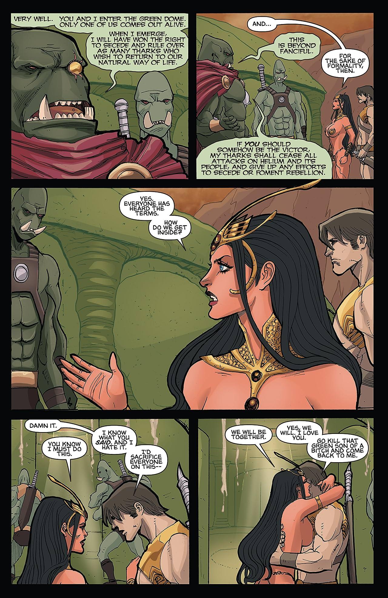 Dejah Thoris and the Green Men of Mars #8 (of 12)