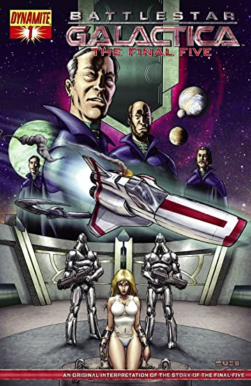 Battlestar Galactica: The Final Five #1 (of 4)