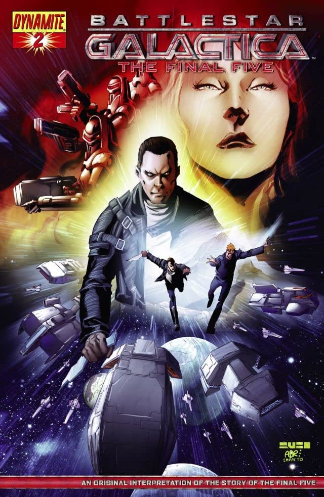 Battlestar Galactica: The Final Five #2 (of 4)