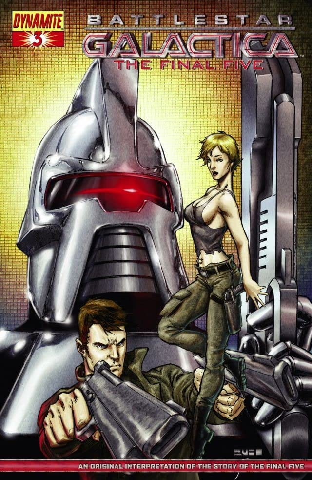 Battlestar Galactica: The Final Five #3 (of 4)