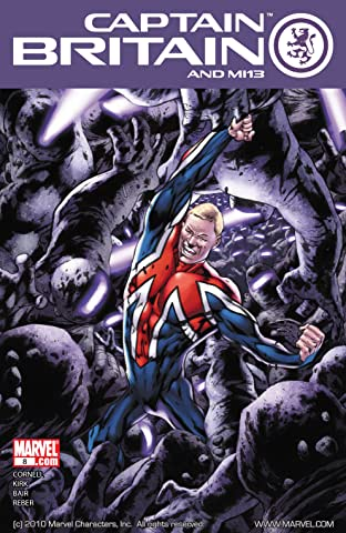 Captain Britain and MI: 13 No.8