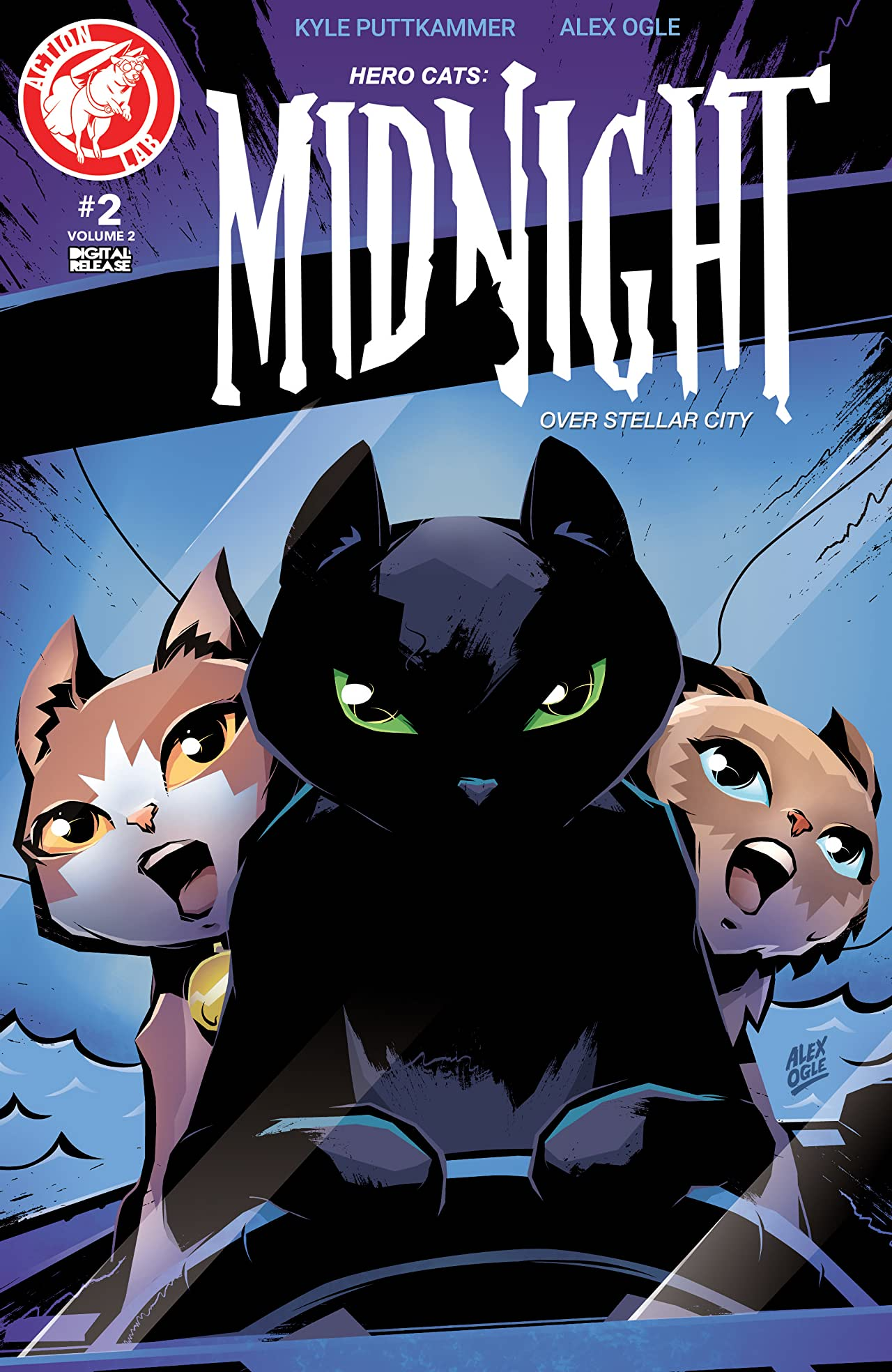 Hero Cats: Midnight Over Stellar City Vol. 2 #2
