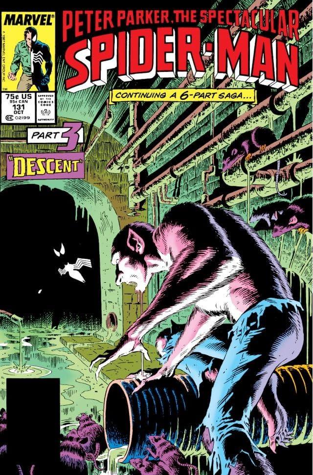Peter Parker, The Spectacular Spider-Man (1976-1998) #131