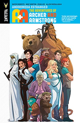A&A: The Adventures of Archer & Armstrong Tome 3: Andromeda Estranged