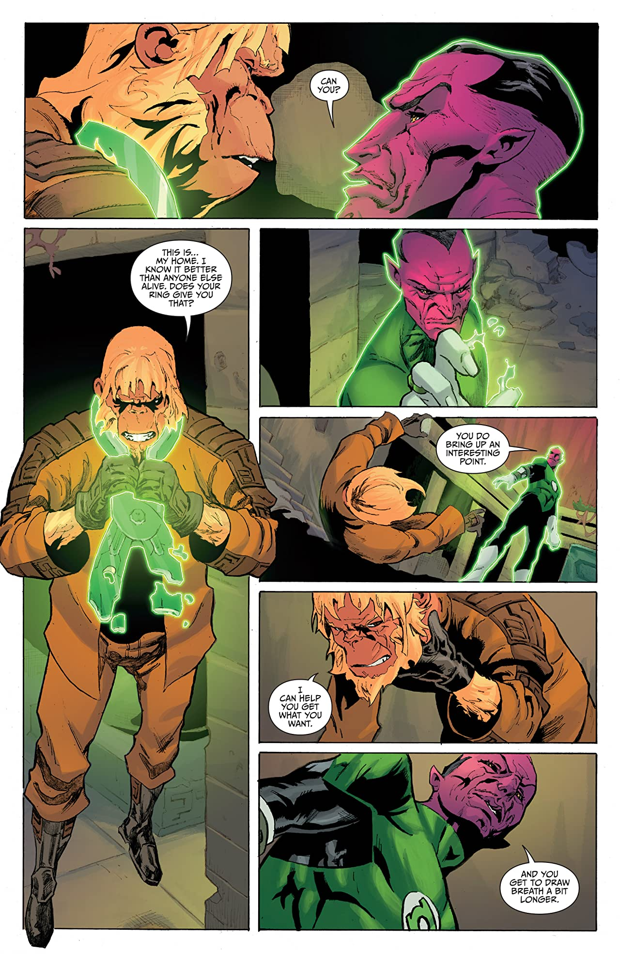 Planet of the Apes/Green Lantern #5 (of 6)