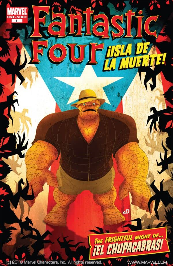 Fantastic Four: Isla De La Muerte!