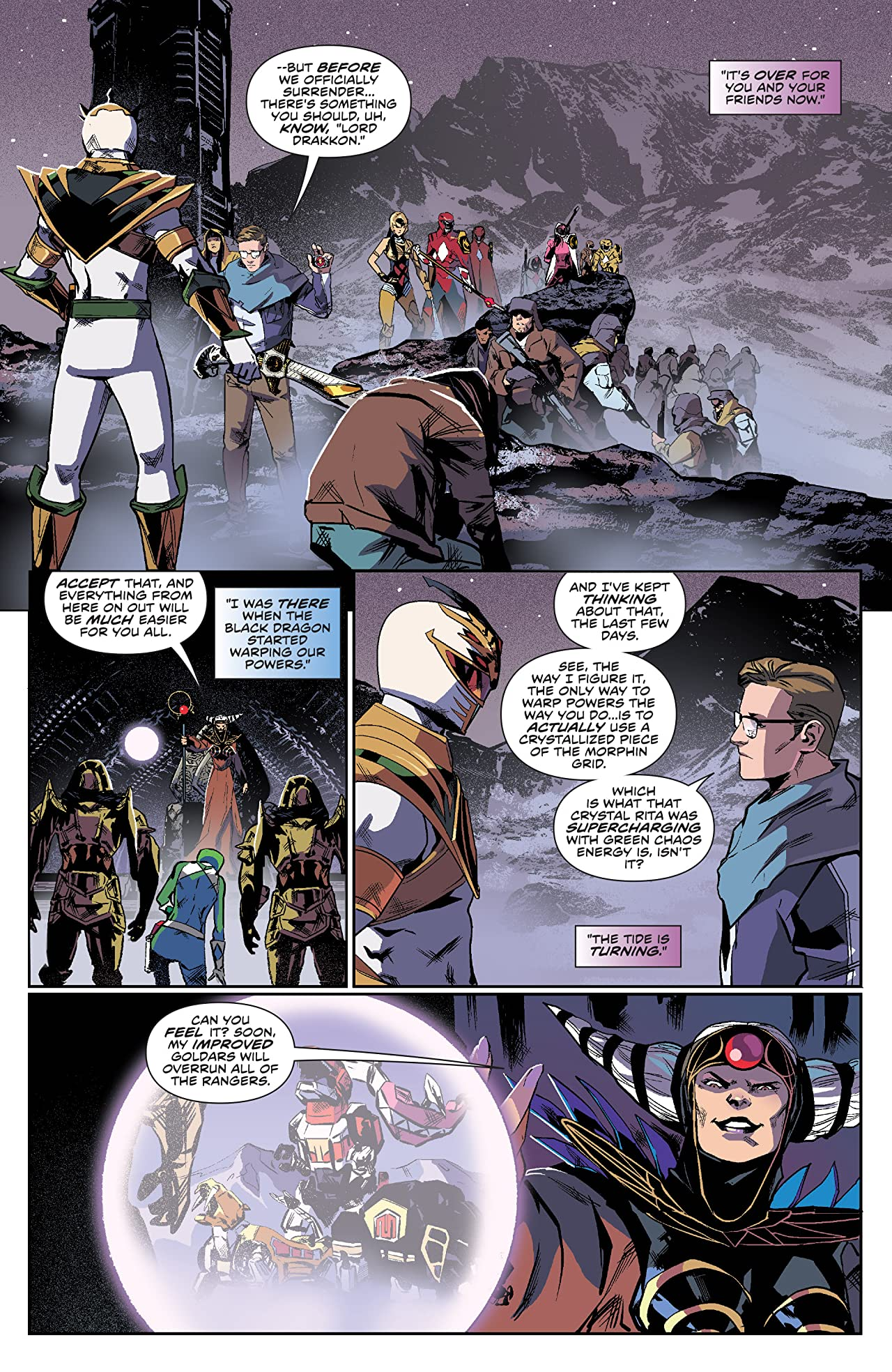 Mighty Morphin Power Rangers #16