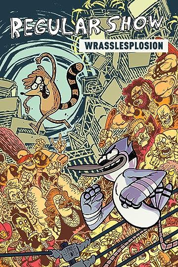 Regular Show: Wrasslesplosion