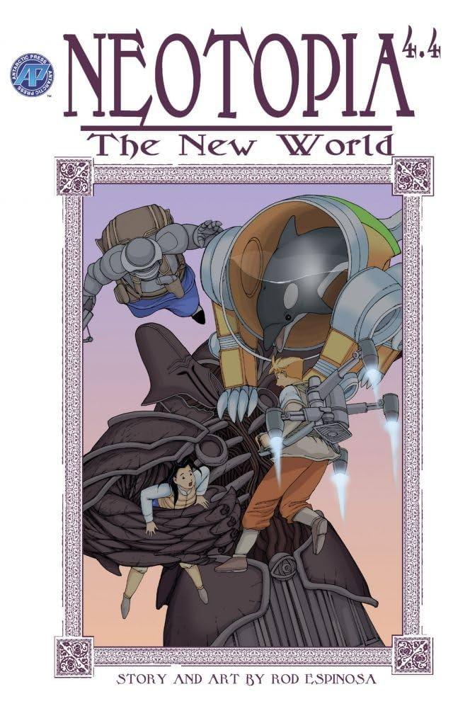 Neotopia Vol. 4 #4: The New World