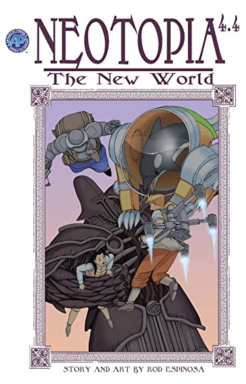 Neotopia Vol. 4 #4: The New World