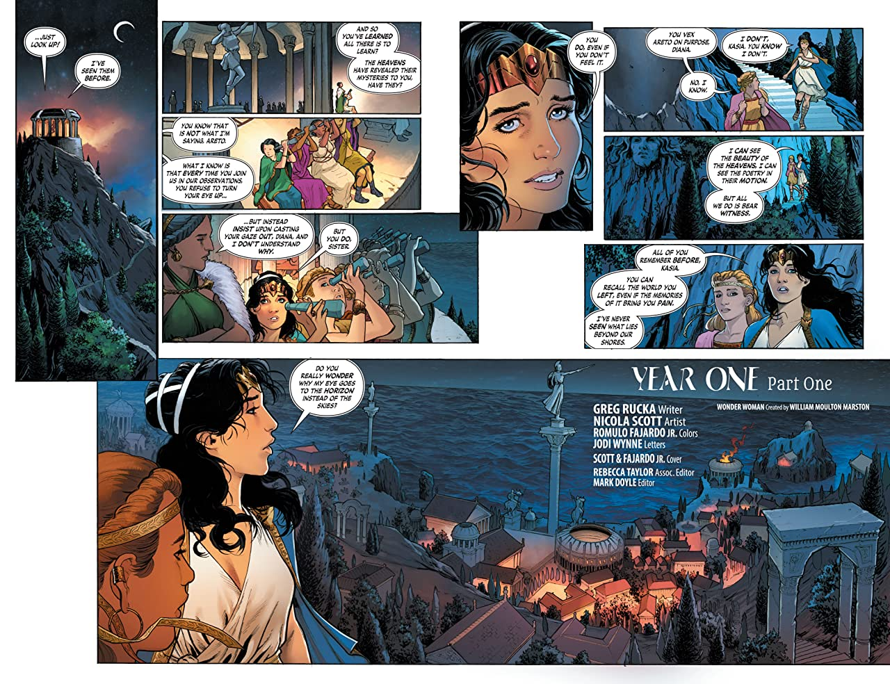 Wonder Woman (2016-) Tome 2: Year One