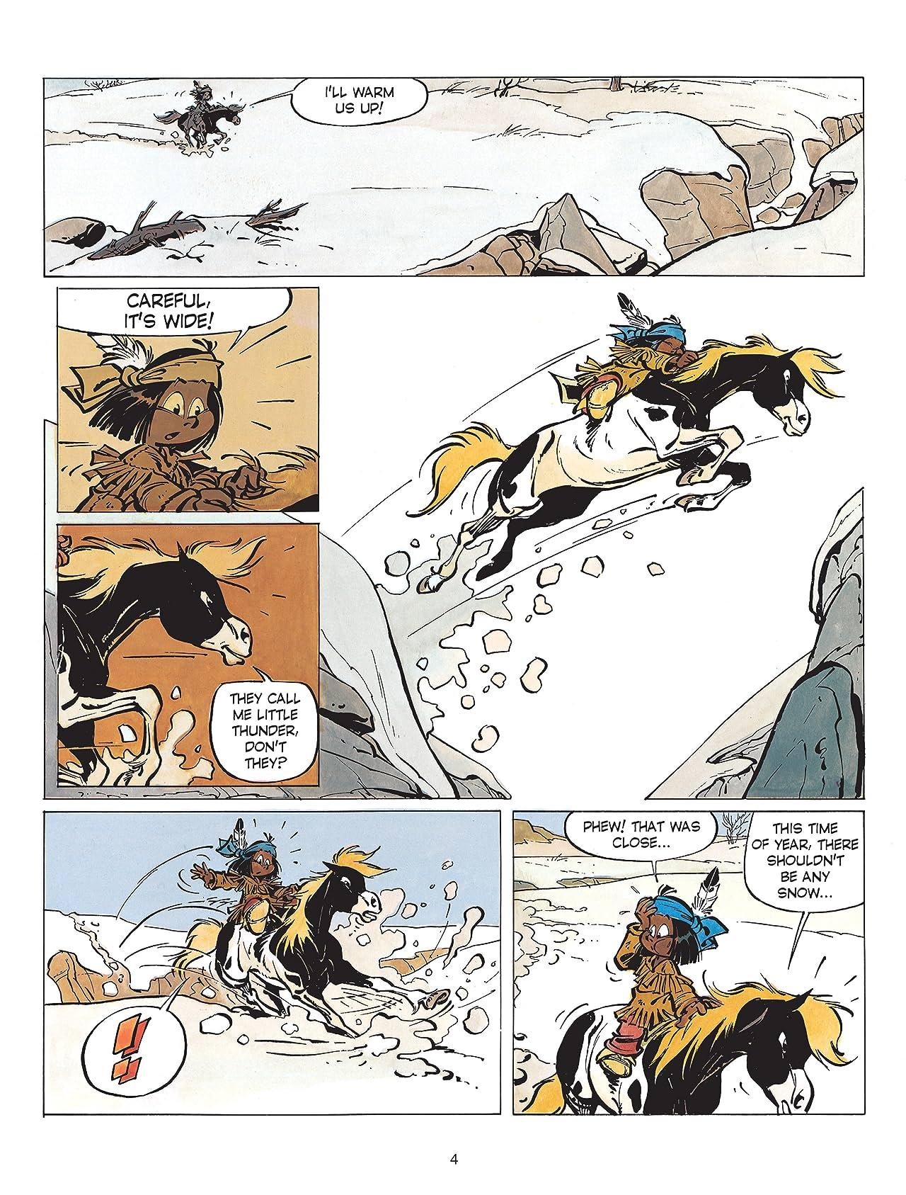 Yakari Vol. 2: Yakari and the White Buffalo