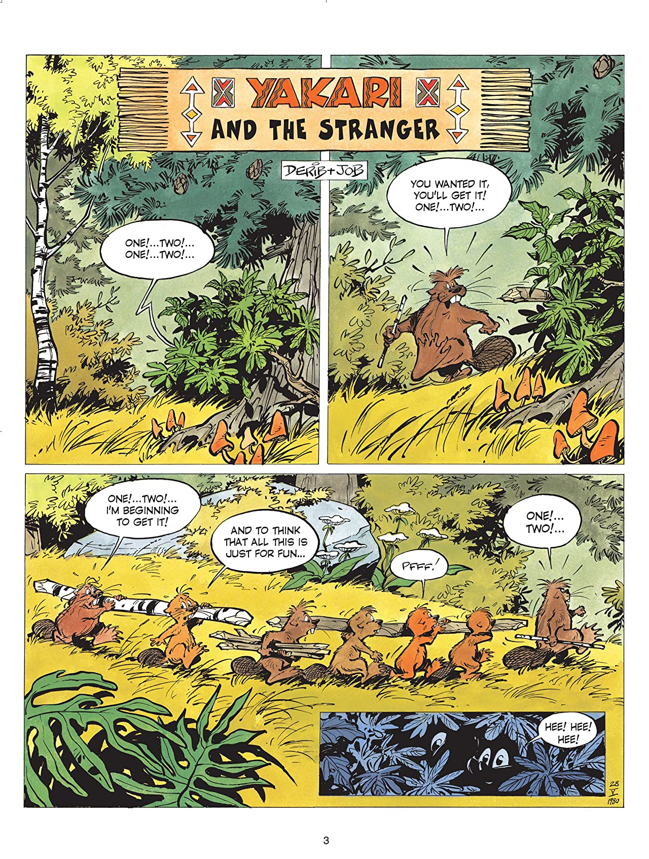 Yakari Vol. 5: Yakari and the Stranger