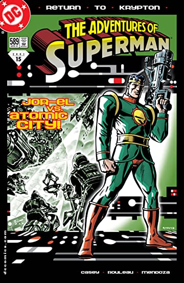 Adventures of Superman (1986-2006) #589