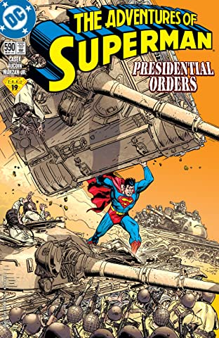 Adventures of Superman (1986-2006) #590