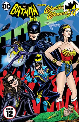 Batman '66 Meets Wonder Woman '77 (2016-2017) #12