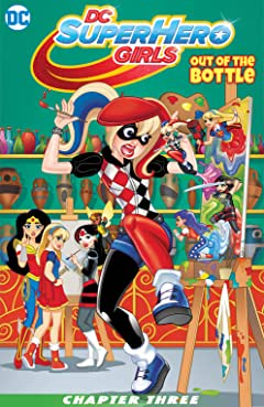 DC Super Hero Girls: Out of the Bottle (2017) #3