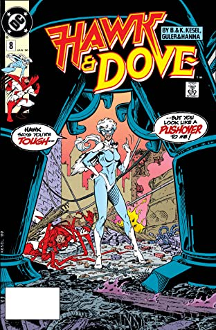 Hawk and Dove (1989-1991) #8