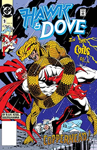 Hawk and Dove (1989-1991) #9